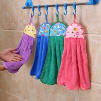 一口米 强力吸盘式厨房浴室浴巾置物架不锈钢毛巾架子 卫生间置物架带6钩