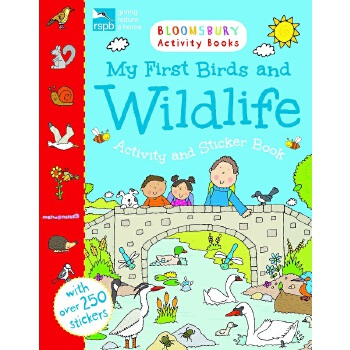 Bloomsbury Activity Books: My First Birds and Wildlife Activity and Sticker Book