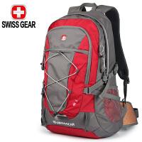 SWISSGEAR瑞士军刀运动户外登山包40L背包徒步包男女旅游包大容量休闲旅行包双肩包