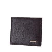 时尚男士短款钱包夹格子钱包 横款皮夹