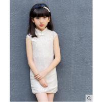 儿童旗袍裙女童连衣裙小女孩蕾丝中大童民族风儿童服装支持礼品卡支付