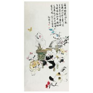 孙菊生 《清趣图》国家一级美术师 中国美协会员