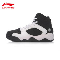 李宁女子2017新款篮球文化鞋Retro 90 II GS高帮女运动鞋ABCM006