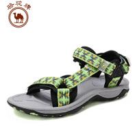 骆驼牌户外沙滩鞋 女款 春夏季新款沙滩凉鞋 透气防滑耐磨