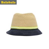 巴拉巴拉童装男童帽子儿童时尚帽童帽2017夏季新款休闲帽子男