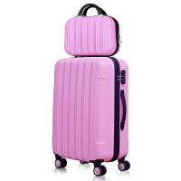 学生登机箱行李箱拉杆箱女万向轮旅行箱子母箱20寸24寸可爱密码箱