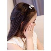 儿童皇冠发饰头饰 公主发箍头箍可爱小皇冠花童头饰水钻皇冠