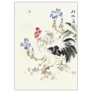 萧朗  大吉图