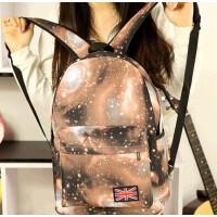 星空米子背包超酷个性双肩包男女韩版潮双肩书包学生休闲背包