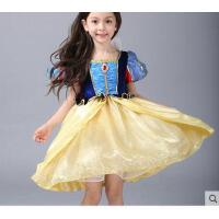 白雪公主裙 灰姑娘婚纱儿童礼服生日蓬蓬裙女童表演演出服