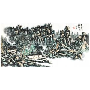 龙瑞 《黄山》中国美术家协会会员