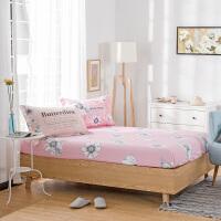 1.5纯棉床笠1.8米全棉加厚席梦思床垫保护套单件床罩