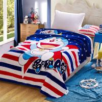 双层加厚西班牙盖毯 单人毛毯 卡通儿童温暖床单150*200