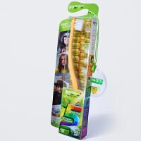 【当当自营】儿童善存栗米牙刷单支装(四色可选)宝宝/婴儿/儿童牙膏牙刷系列