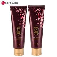 【保税仓发货】[2只装] 韩国LG 润膏无硅油洗发水洗护二合一 250ml
