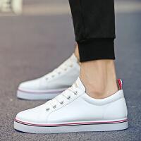 春季低帮休闲鞋子男韩版小白鞋系带运动鞋男鞋百搭情侣鞋跑步鞋男