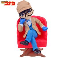 名侦探柯南 经典滑板 手办摆件公仔人偶玩具模型摆件超值礼物盒装 福尔摩斯版坐姿