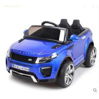 双驱动大马力霸气小孩宝宝汽车摇摆玩具车儿童电动车4-5岁带遥控四轮车