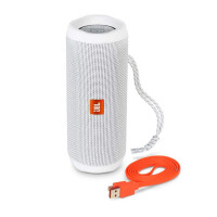 JBL Flip4便携蓝牙音箱无线小音响重低音HIFI 防水户外无线音箱 白