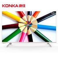 【当当自营】康佳(KONKA)LED55R6000U 55英寸64位4K安卓智能平板电视