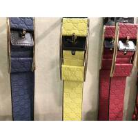 Gucci双G压花女款腰带 8种颜色