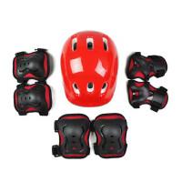 儿童轮滑头盔护具组合套装溜冰鞋儿童头盔护具旱冰鞋滑板7件套