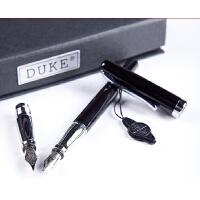 公爵209白钢美工-1 美工笔+依金笔头 两用钢笔