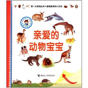 次发现丛书 透视眼系列小百科:亲爱的动物宝宝 法国伽利玛少儿出版社