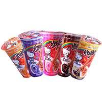【当当自营】明治meiji 欣欣杯酱条饼干 巧克力味/草莓味/蓝莓味/香蕉味/香橙味 50g*4杯装