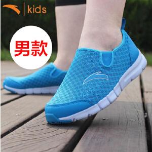 安踏童鞋 女孩网鞋运动鞋休闲鞋夏季平底鞋单鞋套脚圆头32625519