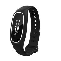 智能手环血压心率监测睡眠运动手表苹果安卓防水 白黑