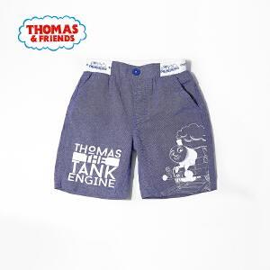 [满200减100]托马斯童装男童夏装时尚休闲纯棉印花 短裤五分裤