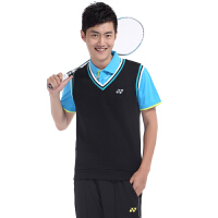 YONEX尤尼克斯羽毛球服 男士运动上衣 运动马甲保暖无袖T恤