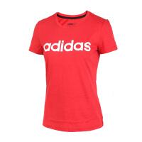 Adidas阿迪达斯 NEO女子运动休闲透气短袖T恤 CE7829