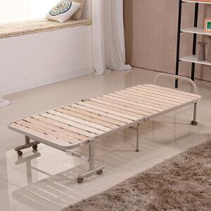 未蓝生活木板折叠床办公午睡午休值班陪护床 床板宽80cm厚1cm VLB80