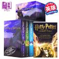 预售 哈利波特英文原版 英文版Harry Potter 哈利波特全套1-7英文原版 哈利波特全集 七本套装 英文原版