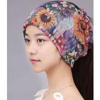 韩版包头光头孕妇女帽 女脖套头巾发带套头帽 新款时尚月子帽
