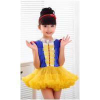 儿童礼服六一儿童节演出服花童礼服公主裙夏女童礼服蓬蓬裙