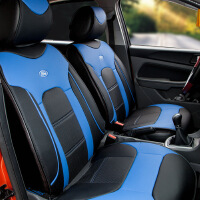 福特官方正品 新福克斯坐垫 福克斯汽车座垫 专车*坐垫 现货 追风蓝黑色