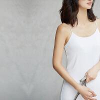 Amii[极简主义]2017夏新修身显瘦百搭性感吊带背心连衣裙11762844