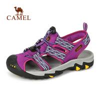camel骆驼户外女款 沙滩鞋 夏季防滑防撞透气舒适女士凉鞋