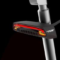 自行车骑行尾灯激光安全镭射智能无线骑行装备
