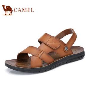 camel骆驼男鞋 2017夏季新品 男士透气沙滩鞋日常休闲男士凉鞋