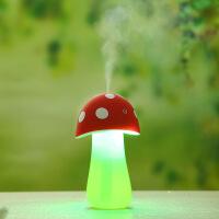 迷你蘑菇灯加湿器 室内车载办公室USB 触摸控制加湿器雾化器LED灯礼品