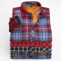pauljones保罗琼诗 2014新款灯芯绒保暖衬衫男士衬衫休闲商务衬衫
