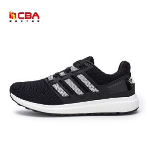 【618狂嗨继续】CBA男子跑鞋 2017年春夏新款时尚男款跑步鞋学生轻便运动爆米花潮鞋