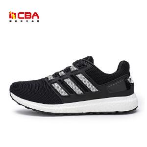 CBA男子跑鞋 2017年春夏新款时尚男款跑步鞋学生轻便运动爆米花潮鞋