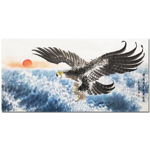 一级书画师、中国书画家协会会员化卫东《大展宏图1》