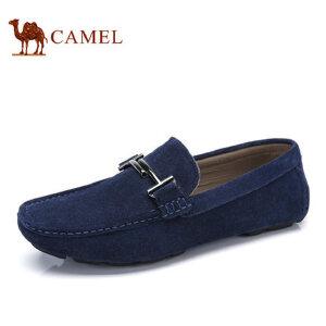 camel骆驼男鞋 2017夏季日常休闲平底鞋 舒适驾车鞋豆豆鞋