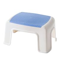 御目 凳子 加厚塑料凳家用儿童小凳子方凳创意时尚浴室板凳客厅椅子成人矮凳换鞋凳满额减限时抢礼品卡创意家具